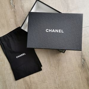 Chanel Shoe Box and Dust Bag